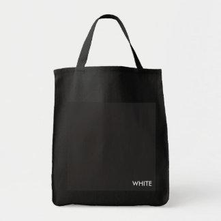 Bolsa Tote Sacola preta, saco do mercado, saco diário