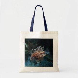 Bolsa Tote Sacola vermelha do Lionfish