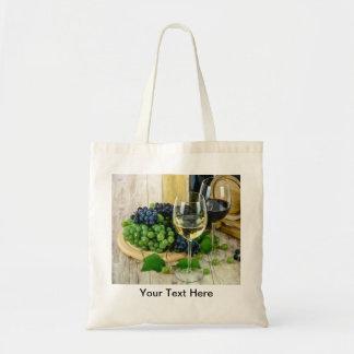 Bolsa Tote Sacolas do tema do vinho mini