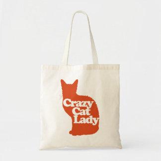 Bolsa Tote Senhora louca do gato