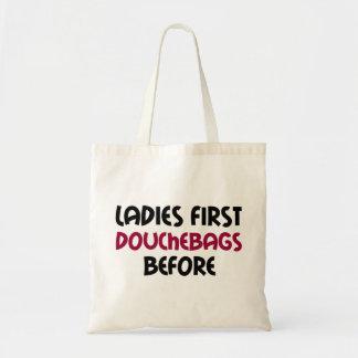Bolsa Tote Senhoras primeiramente