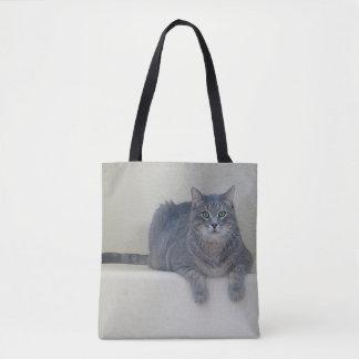 Bolsa Tote Smokey a sacola do gato