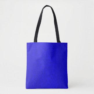 Bolsa Tote Teste padrão azul quente dos azulejos de mosaico,