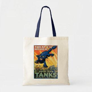 Bolsa Tote Trate-os ásperos - junte-se aos tanques