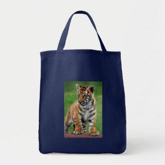 Bolsa Tote Um tigre de bebê bonito