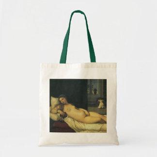 Bolsa Tote Venus de Urbino por Titian, arte de renascimento