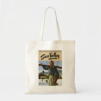 Bolsa Tote Viagem da estância de esqui de Sun Valley Idaho do