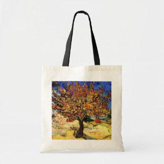 Bolsa Tote Vincent van Gogh - as belas artes da árvore de