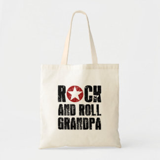 Bolsa Tote Vovô do rock and roll