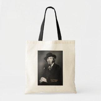 Bolsa Tote Walt Whitman novo em New York 1848