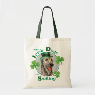 Bolsa Tote Wolfhound irlandês do dia de St Patrick