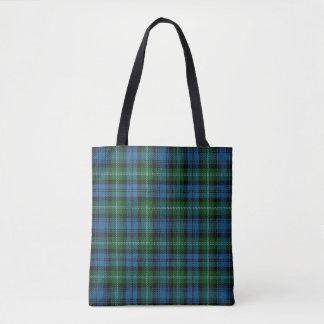 Bolsa Tote Xadrez de Tartan escocesa de Lyon do clã