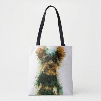 Bolsa Tote Yorkie/retrato animal de estimação do yorkshire