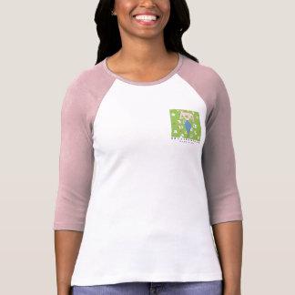 Bolso da camisa da mulher da leitura camisetas