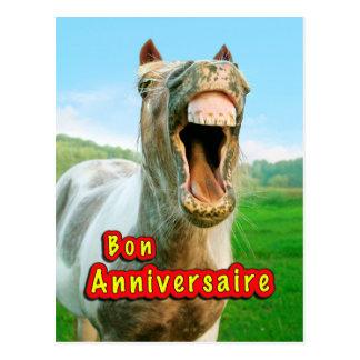 Bom aniversário cartao postal