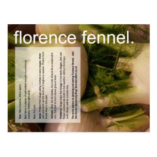 Bom guia crescente: Erva-doce & sprouts de Cartão Postal