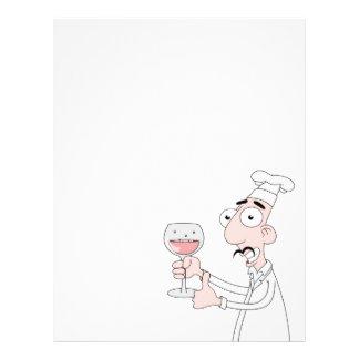 Bom vinho modelos de panfleto