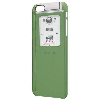 Bomba de gasolina velha capa para iPhone 6 plus clear