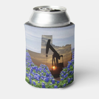 Bomba de óleo Jack da forma de Texas em Porta-lata