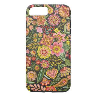 Bomba floral capa iPhone 7 plus