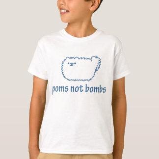 Bombas de Poms não Tshirts