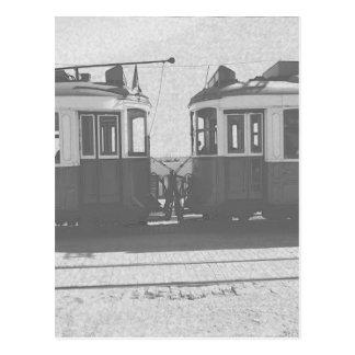 Bondes de Lisboa Cartão Postal