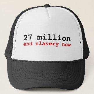 Boné 27 milhão escravidões do fim agora