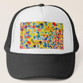 Boné 2 AFASTADO VARRIDOS - arte colorida vibrante da