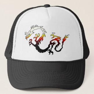 Boné 2D dragão do fogo