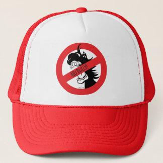 Boné A bolota morde o chapéu das intimidações