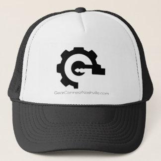 Boné A engrenagem conecta o logotipo de G do chapéu