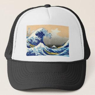 Boné A grande onda - Hokusai