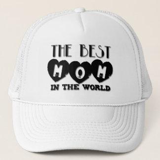Boné A melhor mamã no chapéu do dia das mães do mundo