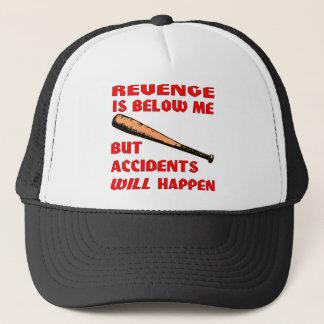 Boné A vingança está abaixo de mim mas os acidentes