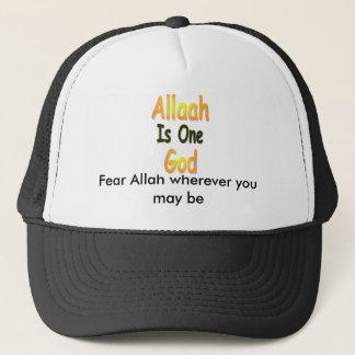 Boné Allah_is_One_God, medo Allah onde quer que você