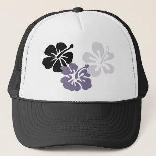 Boné aloha hibiscus das cinzas do mahalo c6e98f89f7c