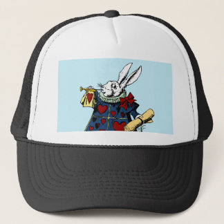 Boné Ame o coelho branco Alice no país das maravilhas