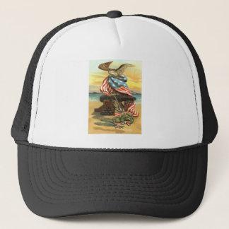 Boné Âncora Eagle do canhão da praia da grinalda da