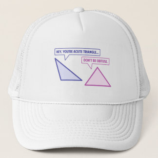 Boné Ângulo obtuso de triângulo agudo