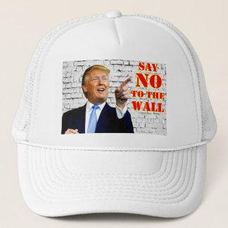 Boné Anti Donald Trump diz NÃO ao chapéu do camionista