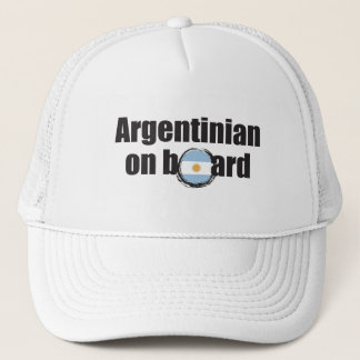 Boné Argentino a bordo