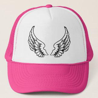 Boné as asas abrem