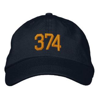 Boné As cores do tigre do bloco 374 bordaram o chapéu
