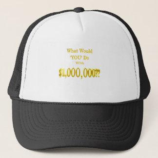Boné As milhão perguntas do dólar