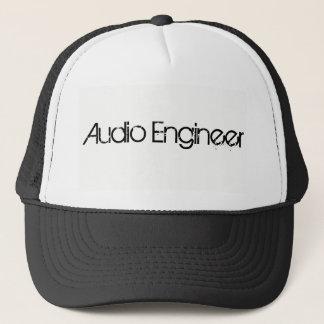Boné audio do camionista do engenheiro