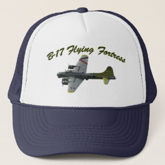 Boné Avião do bombardeiro da fortaleza WWII do vôo B17