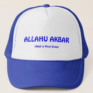 Boné azul de ALLAHU AKBAR