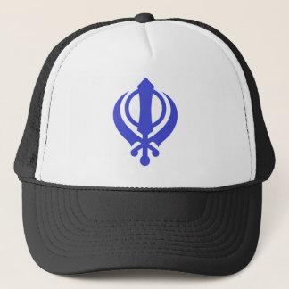 Boné Azul de Khanda do sikh