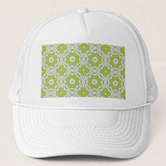 Boné azulejo do verde limão