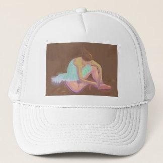 Boné Bailarina que amarra seus calçados, chapéu